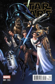 Star Wars 1 J. Scott Campbell Connecting Variant